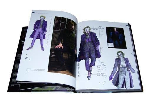 Libro: The Dark Knight Featuring Production Art and Full Shooting Script en internet