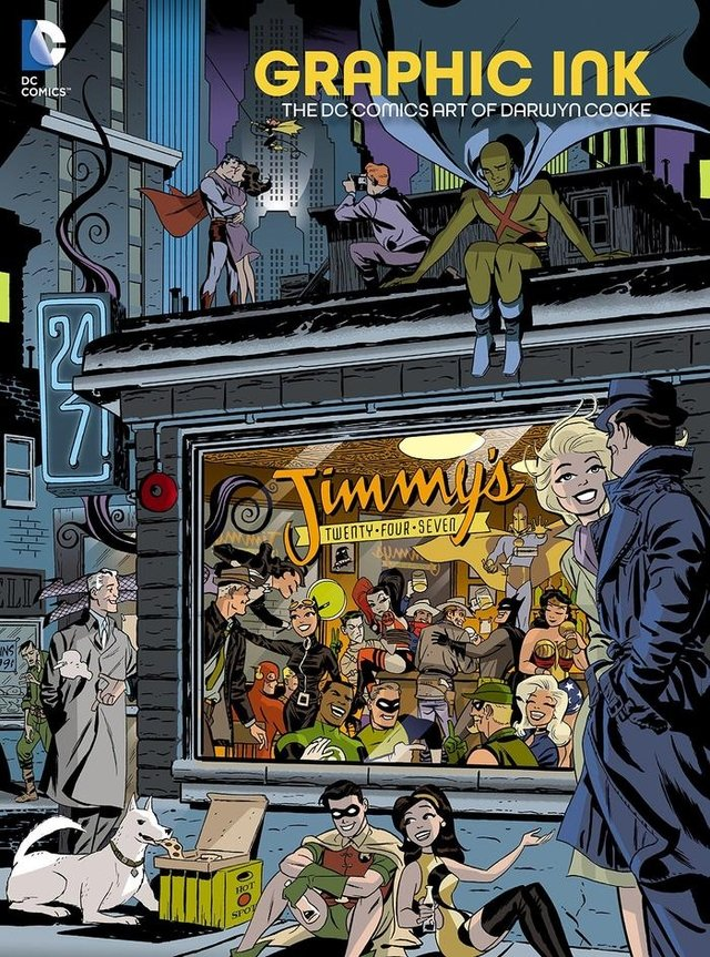 Libro: Graphic Ink: The DC Comics Art of Darwyn Cooke