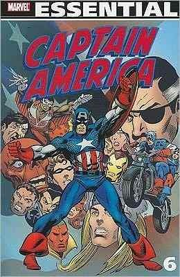 Libro: Essential Captain America - Volume 6