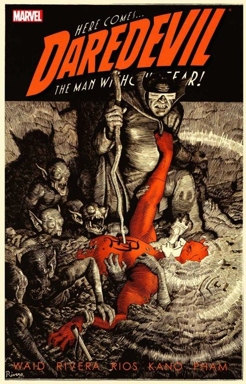 Comic : Daredevil, Vol. 2  - The Man Without Fear!