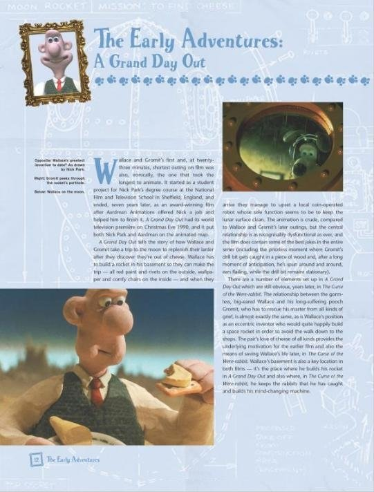 Libro: The Art Of Wallace & Gromit The Curse of the Were-Rabbit - comprar online