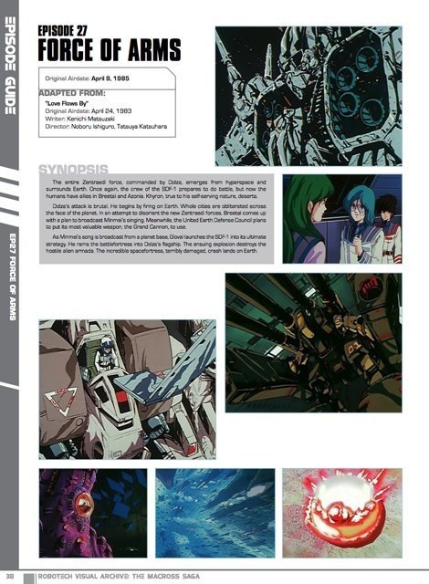 Imagen de Libro Robotech Visual Archive: The Macross Saga