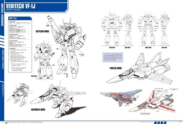 Libro Robotech Visual Archive: The Macross Saga - Vanguardia Libros