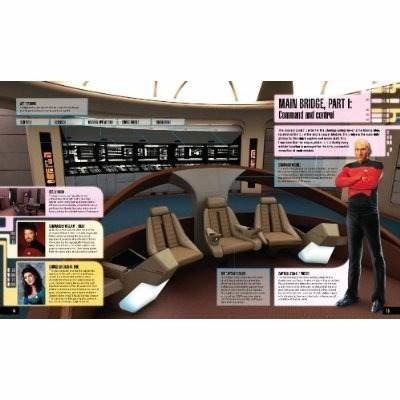 Libro: Star Trek: The Next Generation: On board the U.S.S Enterprise en internet