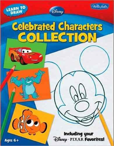Libro: Learn To Draw Disney - Celebrated Characters Collection: Including your Disney/Pixar Favorites!
