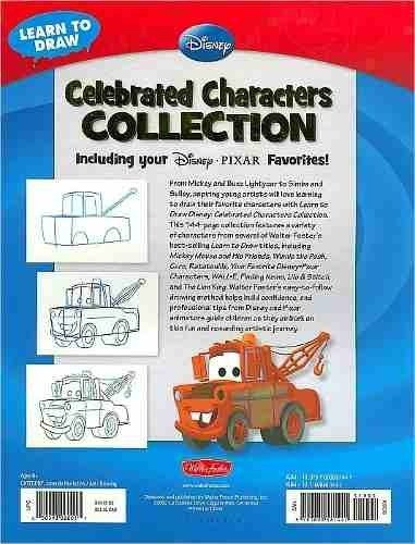 Imagen de Libro: Learn To Draw Disney - Celebrated Characters Collection: Including your Disney/Pixar Favorites!