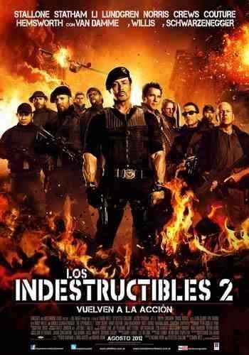 Poster Original Cine Los Indestructibles 2