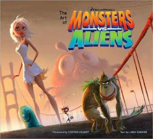 Libro: The Art of Monsters vs. Aliens
