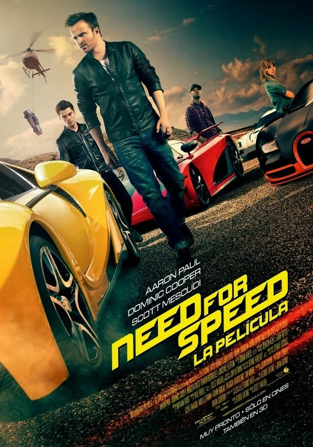 Poster Original Cine Need for speed - comprar online