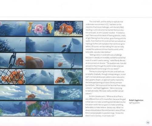Libro: The Art of Finding Nemo (Disney - Pixar) en internet