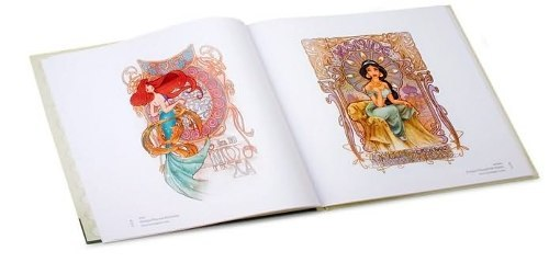 Libro: The Art of the Disney Princess en internet