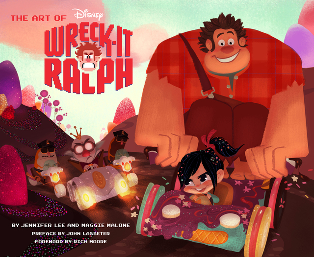 Libro: The Art of Wreck-It Ralph