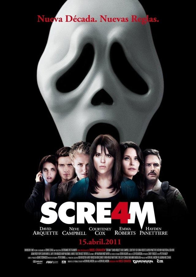 Poster Original Cine Scream 4 - comprar online