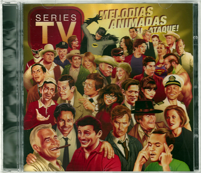 CD de Música:  Melodías Animadas al ataque - Series de TV