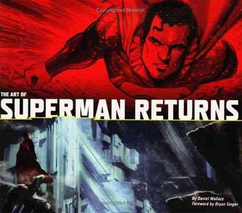 Libro: The Art of Superman Returns