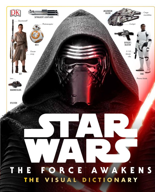 Libro: Star Wars: The Force Awakens Visual Dictionary