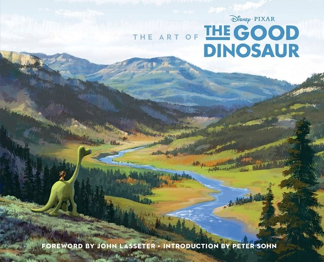 Libro: The Art of the Good Dinosaur