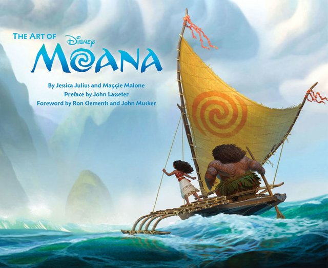 Libro: The Art of Moana