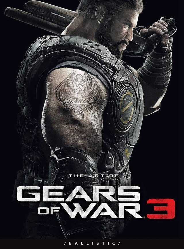 Libro: The Art of Gears of War 3