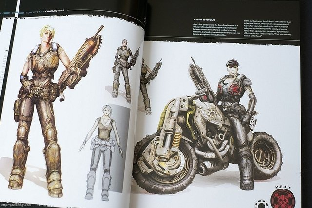 Libro: The Art of Gears of War 3 - comprar online