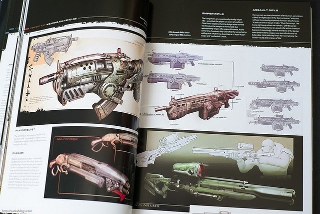 Libro: The Art of Gears of War 3 - Vanguardia Libros