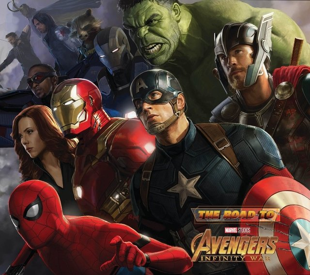 Libro: The Road to Marvel's Avengers: Infinity War - The Art of the Marvel Cinematic Universe