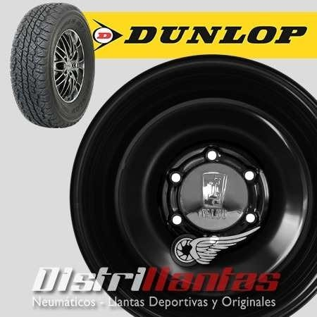 Kit X 4 Dunlop At1 32 X 11,5 R15 + Llantas Custom 15x10