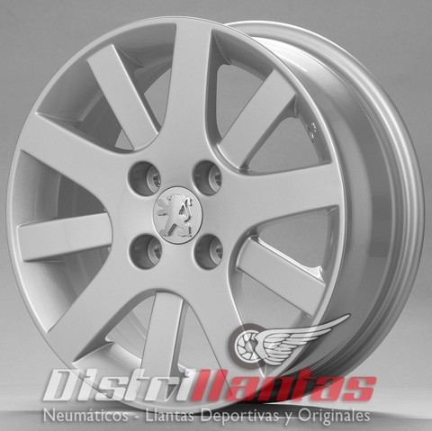 Llantas Peugeot 206/207 Interlagos R15 Distrillantas