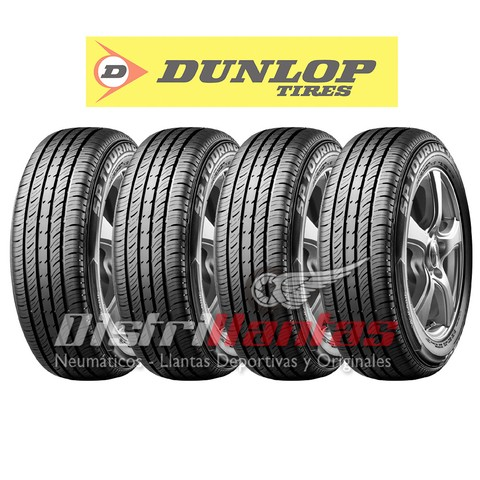 KIT 4 NEUMATICOS 185/65TR14 86T DUNLOP SP TOURING T1