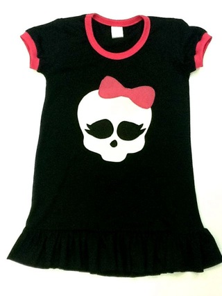 Vestido Monster High