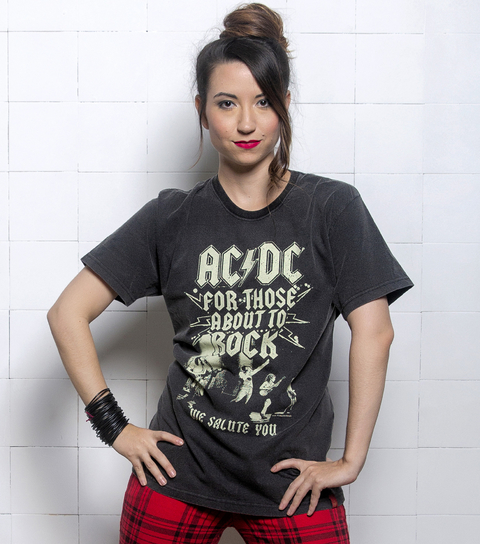 Camiseta VSR AC/DC We Salute You