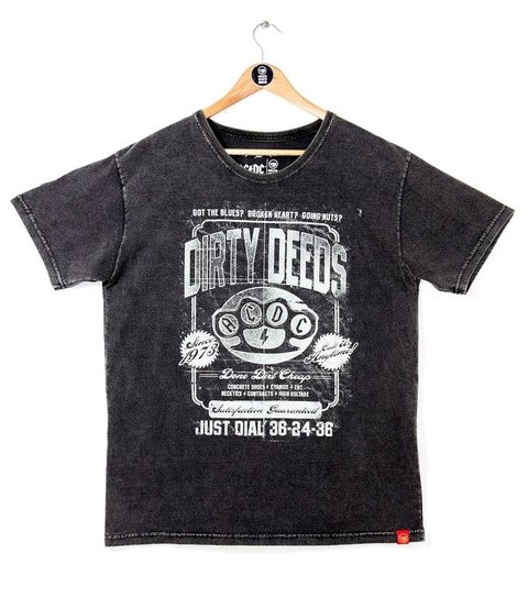 CAMISETA AC/DC DIRTY DEEDS na internet