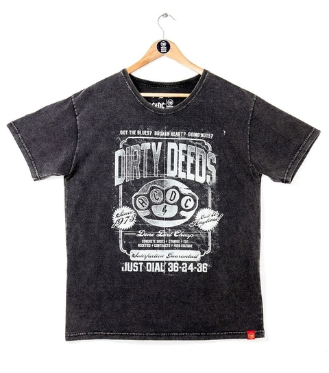 CAMISETA AC/DC DIRTY DEEDS