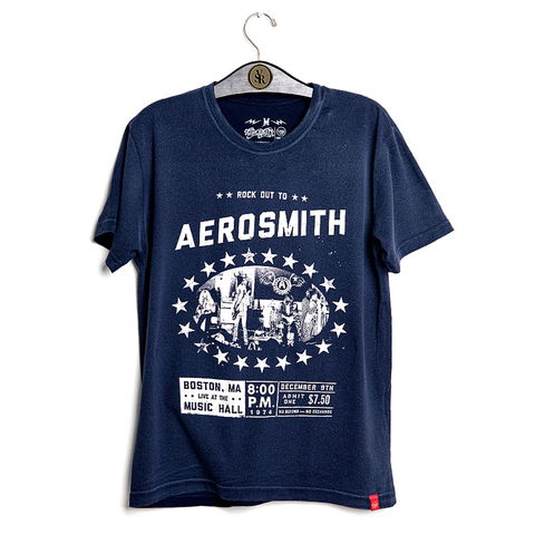Camiseta VSR Aerosmith Boston