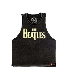 CAMISETA THE BEATLES LOGO - FEMININO