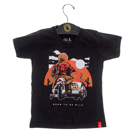 Camiseta VSR Born to Be Wild - Infantil