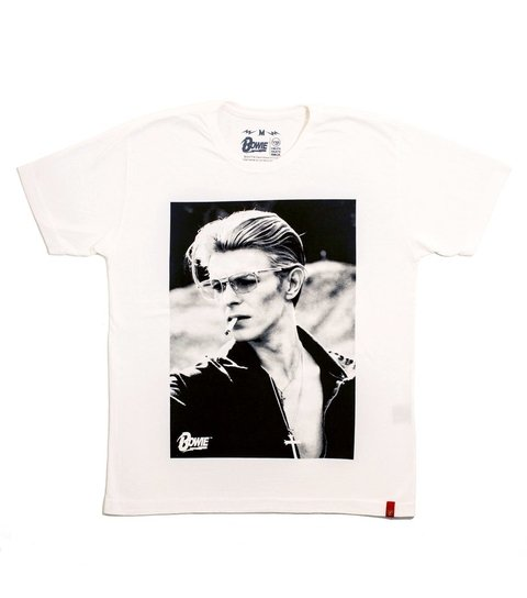 Camiseta VSR David Bowie Rebel Off-White