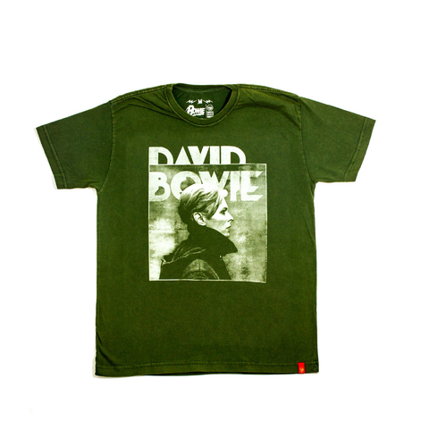 Camiseta VSR David Bowie Low Green