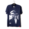 Camiseta VSR David Bowie Rebel Azul Marinho