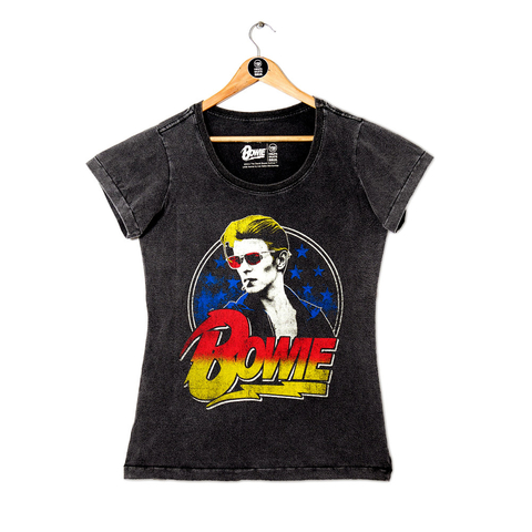 Camiseta VSR David Bowie Smoking - Feminino Slim