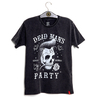 Camiseta VSR Dead Man's Party - Preto Estonado