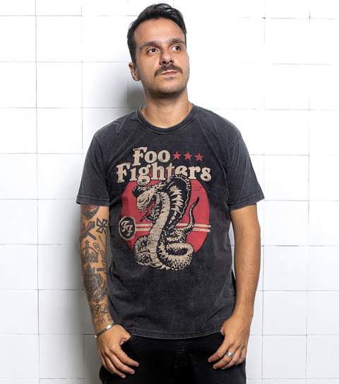 Camiseta VSR Foo Fighters Snake