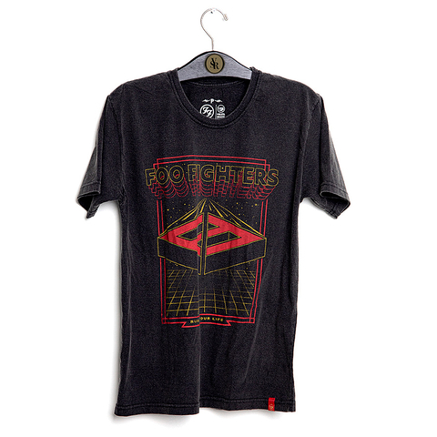 Camiseta VSR Foo Fighters Vintage Arcade