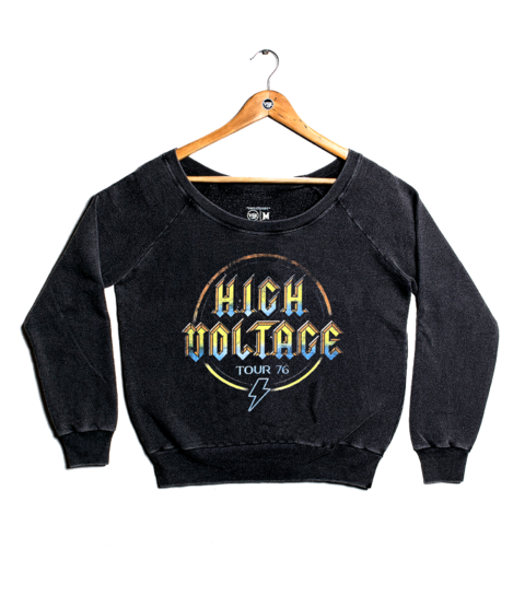 Moletom High Voltage Tour 76  - Feminino