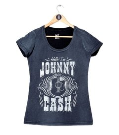 CAMISETA JOHNNY CASH - FEMININO na internet