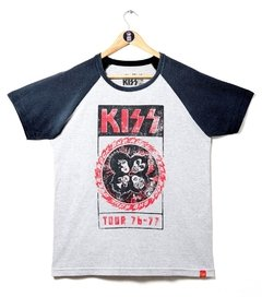 CAMISETA KISS TOUR 76-77 na internet