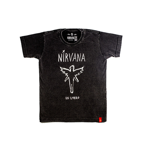 Camiseta VSR Nirvana In Utero Art - Infantil