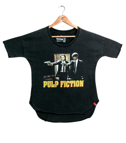 Camiseta VSR Pulp Fiction Guys - Feminino Oversized