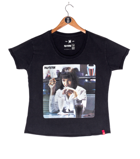 Camiseta VSR Pulp Fiction Mia Wallace - Feminino Comfort