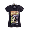 Camiseta VSR Pulp Fiction Poster - Feminino Slim